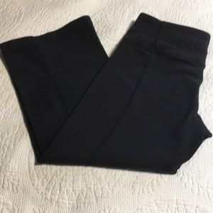 Lululemon Cropped Black Pants. Size 4